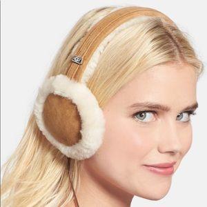 Ugg sheepeskin wired earmuff